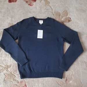 Navy blue Land's End school uniform sweater - NWT